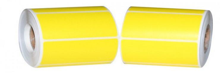 Термоэтикетка 30х20/1700(желтая)