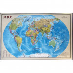 """Настольное покрытие """"Карта мира"""" 38*59 см"""