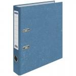 Пaпкa-регистратор OfficeSpace 50мм, мрамор, синяя