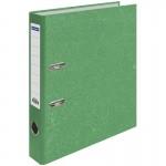 Пaпкa-регистратор OfficeSpace 50мм, мрамор, зелёная