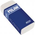 """Ластик """"4020"""", прямоугольный, синтетический каучук, картонный держатель, 55*23*13мм"""