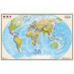 """Карта """"Мир"""" политическая 1:35млн. (0,58*0,9) матовая ламинация"""