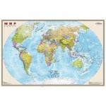 """Карта """"Мир"""" политическая DMB, 1:15млн., 1970*1270мм, матовая ламинация"""