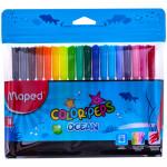 """Фломастеры """"Color'Peps Ocean"""" 18цв.,  ПВХ уп., европодвес"""